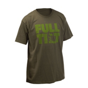 Full Tilt Logo T-Shirt, Military Green, medium
