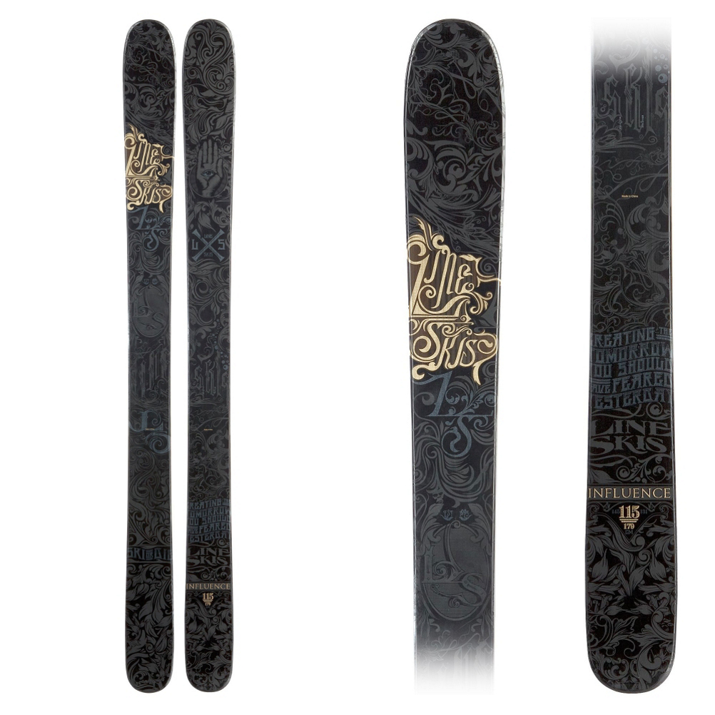 Line Influence 115 Skis 2013