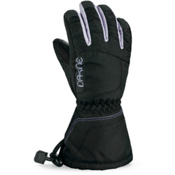 Dakine Tracker Girls Gloves, Black Quilt, medium