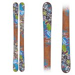 Line Afterbang Shorty Kids Skis 2013