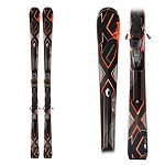 K2 A.M.P. Bolt Skis with K2 Marker