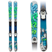 K2 Indy 7.0 Kids Skis with Marker Fastrak 2 7.0 Bindings, , medium