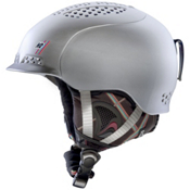 K2 Virtue Womens Audio Helmet 2013, Silver Frost, medium