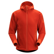 Arc'teryx Strato Hoody Mens Jacket, Chili Pepper, medium