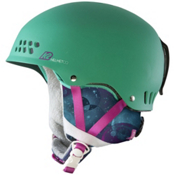 K2 Emphasis Womens Audio Helmet 2013, Teal, medium