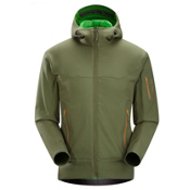 Arc'teryx Hyllus Hoody Soft Shell Jacket, Utility Green, medium