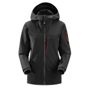 Arc'teryx Gamma MX Womens Soft Shell Ski Jacket, Black, medium