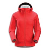 Arc'teryx Hyllus Hoody Womens Jacket, Grenadine, medium