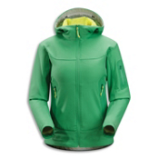Arc'teryx Hyllus Hoody Womens Jacket, Hosta, medium