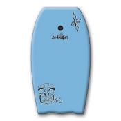 360 Inc. Mondo Body Board, Light Blue, medium