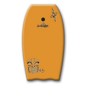 360 Inc. Mondo Body Board, Orange, medium