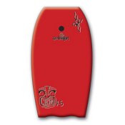 360 Inc. Mondo Body Board, Red, medium