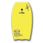 360 Inc. Mondo Body Board, Yellow, medium