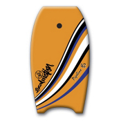 360 Inc. Pipeline Body Board, Orange, medium