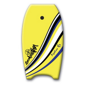 360 Inc. Pipeline Body Board, Yellow, medium
