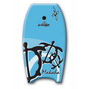 360 Inc. Makaha 39 Body Board, Light Blue, medium