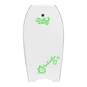 360 Inc. Makaha 39 Body Board, White, medium