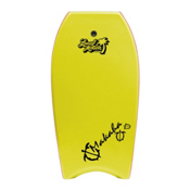 360 Inc. Makaha 39 Body Board, Yellow, medium
