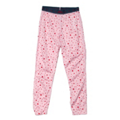 Hot Chillys Midweight Girls Long Underwear Bottom, Hearts, medium