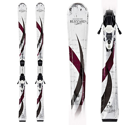 Blizzard Viva 7.4 IQ Womens Skis with IQ LC 10 Bindings, , large