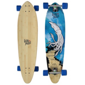 Landyachtz Wedge-Flex Bamboo Complete Longboard, 39.75in, medium