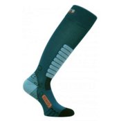 Euro Sock Sweet Silver Womens Ski Socks, Teal, medium
