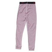 Hot Chillys Waffle XLS Girls Long Underwear Bottom, Pink, medium