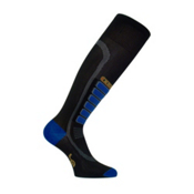 Euro Sock Compression Ski Socks, Black, medium