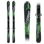 Atomic Blackeye Ti Skis with XTO 12