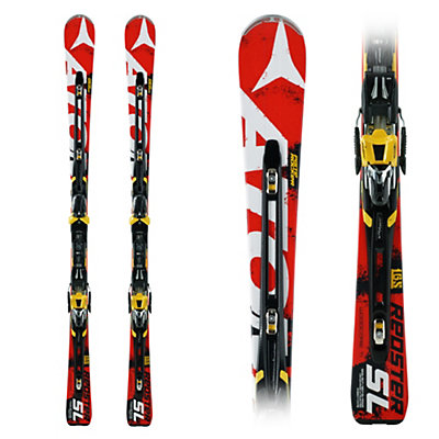 Atomic Redster Double Deck SL Race Skis with Neox TL 12 Bindings, , large