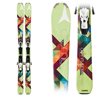 Atomic Affinity Storm Womens Skis with XTO 10 AF Bindings, , large