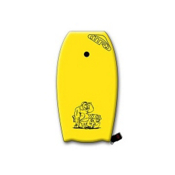 360 Inc. XXXL 45 Body Board, Yellow, medium