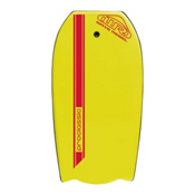 360 Inc. Pro Classic Body Board, Yellow, medium