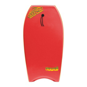 360 Inc. Hawaii 39 Body Board, Red, medium
