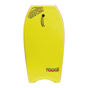 360 Inc. Hawaii 39 Body Board, Yellow, medium