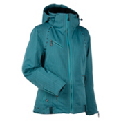 Nils Britt Womens Insulated Ski Jacket, Grafitti Blue, medium