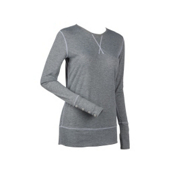 Nils Aimee Womens Long Underwear Top, Silver Medal, medium