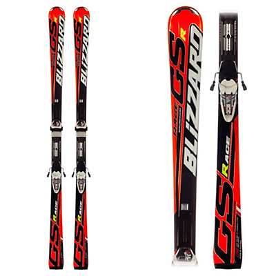 Blizzard GSR Magnesium Race Skis with IQ TP 11 Bindings, , large