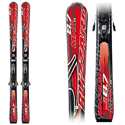 Blizzard Magnum 8.7 TI IQ Max Skis with IQ Max 12 Bindings, , viewer