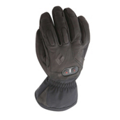 Black Diamond Cayenne Heated Ski Gloves, Black, medium