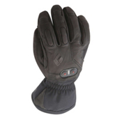 Black Diamond Cayenne Womens Heated Ski Gloves, Black, medium