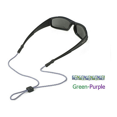 Chums 3mm Universal Rope Wind for Sunglasses, Green-Purple, large