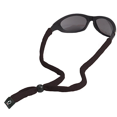 Chums Original Cotton Hurricane Retainer for Sunglasses, Black, large