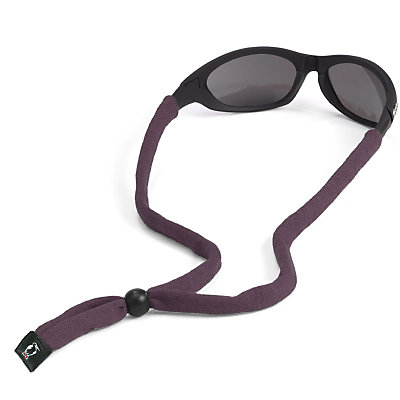 Chums Original Cotton Hurricane Retainer for Sunglasses, Grey, large