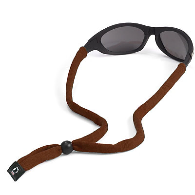 Chums Original Cotton Hurricane Retainer for Sunglasses, Brown, large