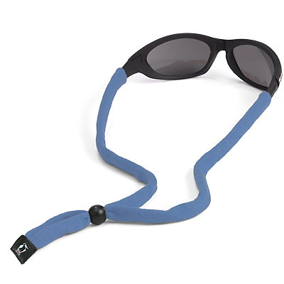 Chums Original Cotton Hurricane Retainer for Sunglasses, Light Blue, large