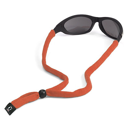 Chums Original Cotton Hurricane Retainer for Sunglasses, Orange, large