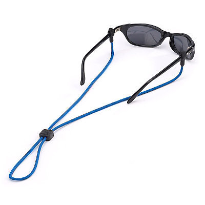 Chums 3mm Slip Fit Solid Retainer for Sunglasses, Blue, large