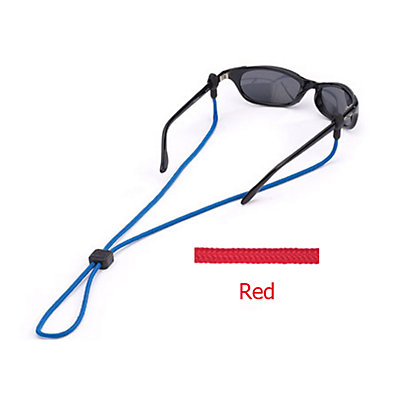 Chums 3mm Slip Fit Solid Retainer for Sunglasses, Red, large