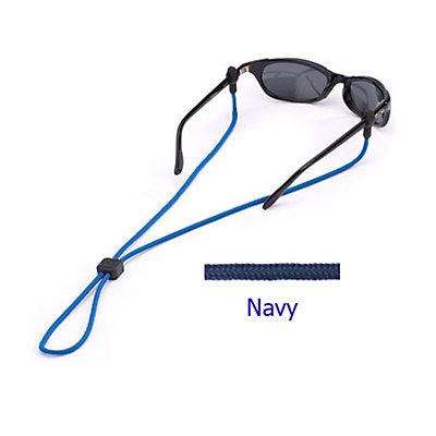Chums 3mm Slip Fit Solid Retainer for Sunglasses, Navy, large